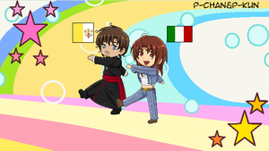 Maru kaite chikyuu - Vatican And Central Italy by P-ChanAndP-Kun