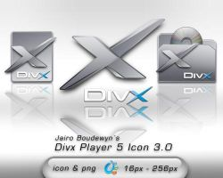 Divx Player Icon 3.0 by weboso