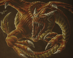Red Dragon by misterxman