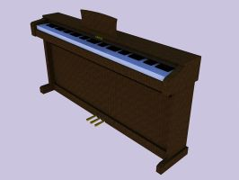 3D Kawai CN23 Digital Piano by pete7868