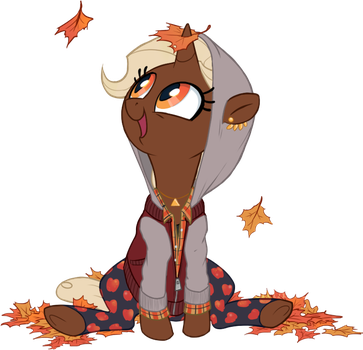 Silly Fall Filly by Lachtaube