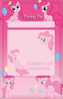 Pinkie Pie Journal Skin by Marcleine