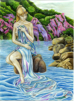 Water Spirit by Sue-bubbles