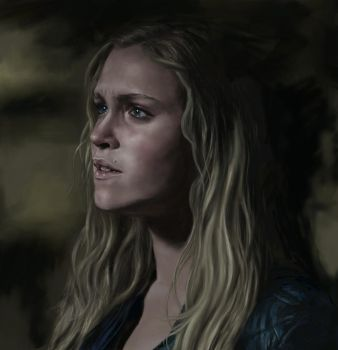 Clarke Griffin Portrait by 1milly2