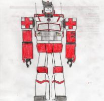 Med-Evac, full body view in color by ImaDoctor96
