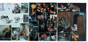 NCEA level 3 Painting Folio for 2014 by neon999