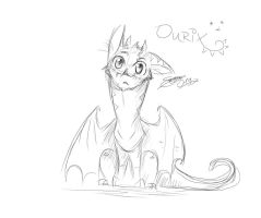 Cunning Little Dragon by soso0197