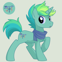 MLP FIM OC  -  Wind Catcher by Dzemil69