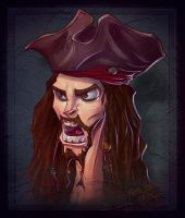 Jack Sparrow by thezork