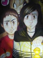 Alfredito y Guille :D by Eterna-Noche