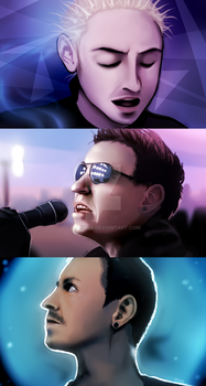 Thank you Chester by TheMiiko