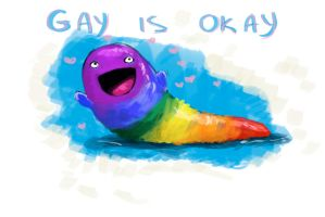 Gay is okay by R-r-ricko