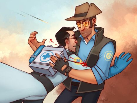 TF2: Save me by ShinySoul