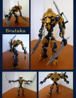 Customized Brutaka by Teridax467