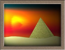 The Pyramids of Egypt by kkm888
