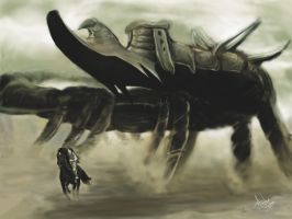 Shadow of the Colossus by andrerb