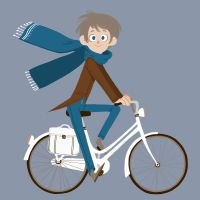 bicycle boy by nounouille