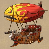 Air ship by animot
