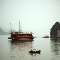 Ha Long Bay misty by kristo1974