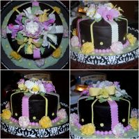 Orchid Cake - 11 by BPHaines