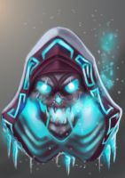 Caveirar, the Frost Mage by livroeternia