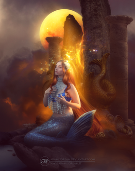 The oracle of the sea by Aramisdream