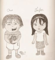 Chad and Taylor Chibis by cease-this-fear