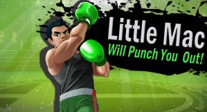 Little Mac for SSB4 by Elemental-Aura