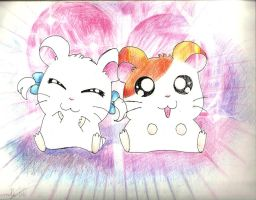 Hamtaro by Mini-Artiste
