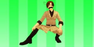 The fangirls will love me for this(Moostache ver.) by Finnyeh