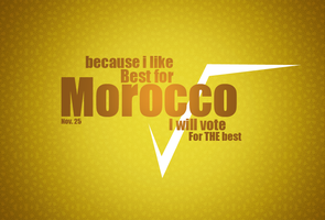 God bless morocco by UHB-gfx