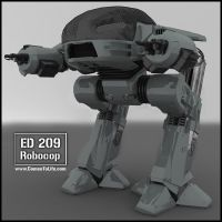 ED-209 by zoomzoom