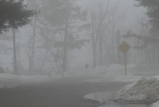 Silent Hill in Winter 1 by TheMajesticKagu