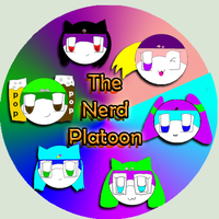 Nerd Platoon Button by ShadowTerra345