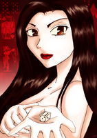 Etsuko (Detective Conan/Case Closed-FF-Character) by Lunell