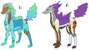 Fire Type Unnamed Species Batch [CLOSED] by Squidoptables