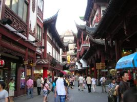 Old Town Shanghai by ExcaliburZ