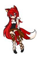 Scarlet Fox by LittleScarlet-XD