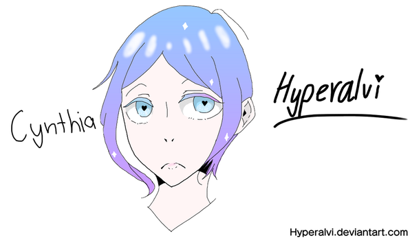 OC: Cynthia (re-coloring soon) by Hyperalvi