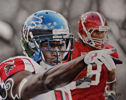 Julio Jones by PriscillaW
