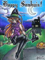 Late for halloween by Flos-Abysmi
