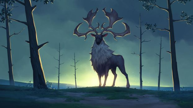 Eikthyrnir, Clan of the Stag - NORTHGARD by Kurunya