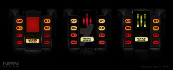 Knight Rider Voice Boxes by valaryc