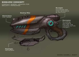 Sidearm Concept by marcnail