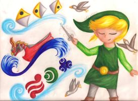 On the Winds by HyruleandHogwarts