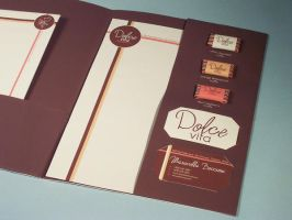 Dolce Vita Stationery Detail by nerdygrl
