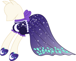 Luna Dress Vector by icantunloveyou