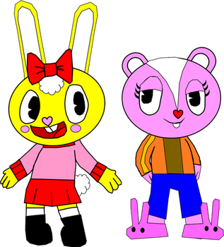 Cuddles and Giggles Clothes Swap (Art Trade) by Fliqpywillkillyou