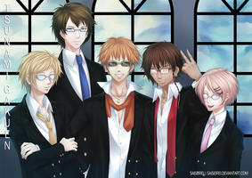 NnK: Megane Host Club V2 by saiseirei