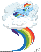 Rainbow Dash by Template93